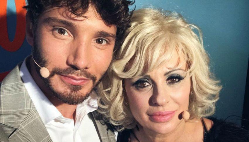 Stefano De Martino a Selfie - Le cose cambiano con Simona Ventura