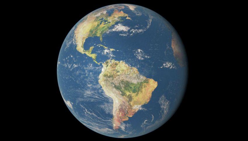 La terra in origine era piatta e ricoperta di acqua