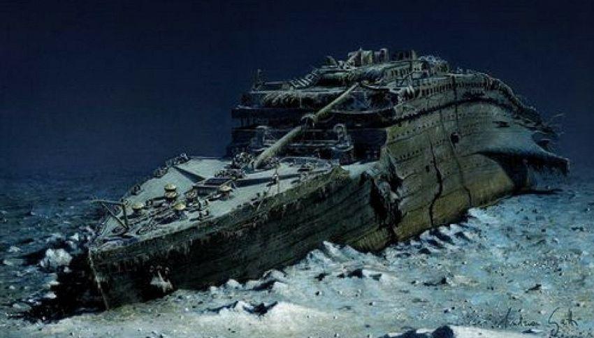 Ecco che aspetto ha il Titanic oggi, a 3810 metri nell'Atlantico