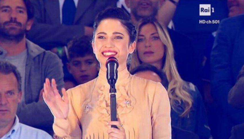 Chi è Lodovica Comello? Inno di Mameli durante la Coppa Italia