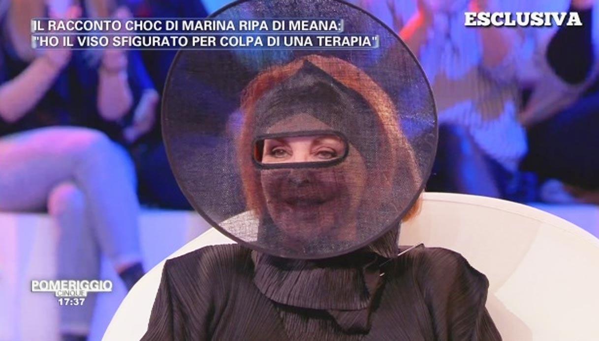 """Marina Ripa di Meana choc: """"Sfigurata da una terapia"""""""