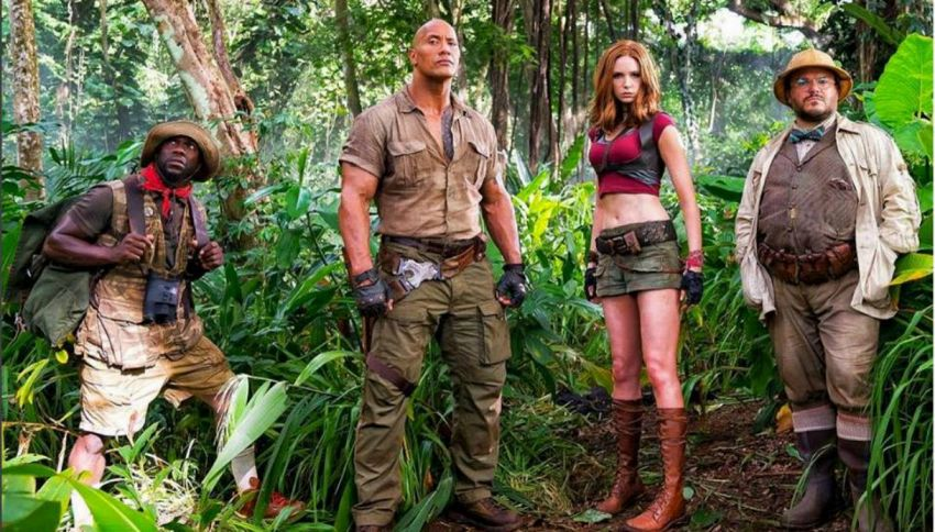 Jumanji torna al cinema: ecco il primo trailer con The Rock