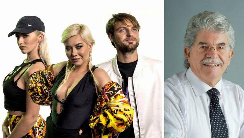 """Antonio Razzi nel nuovo videoclip de Il Pagante """"Too Much"""""""