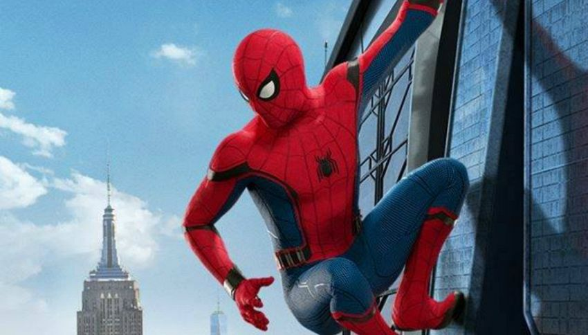 Il nuovo spider man torna a casa