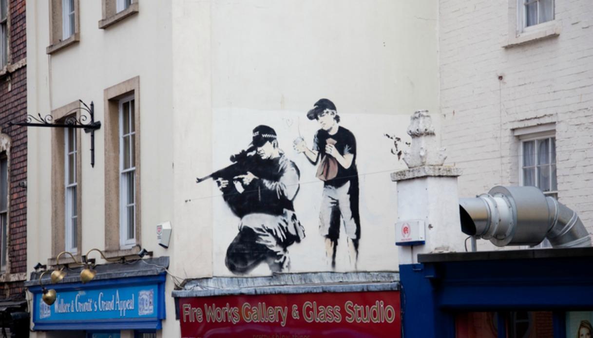 Banksy: svelato per errore il vero nome dell'artista misterioso