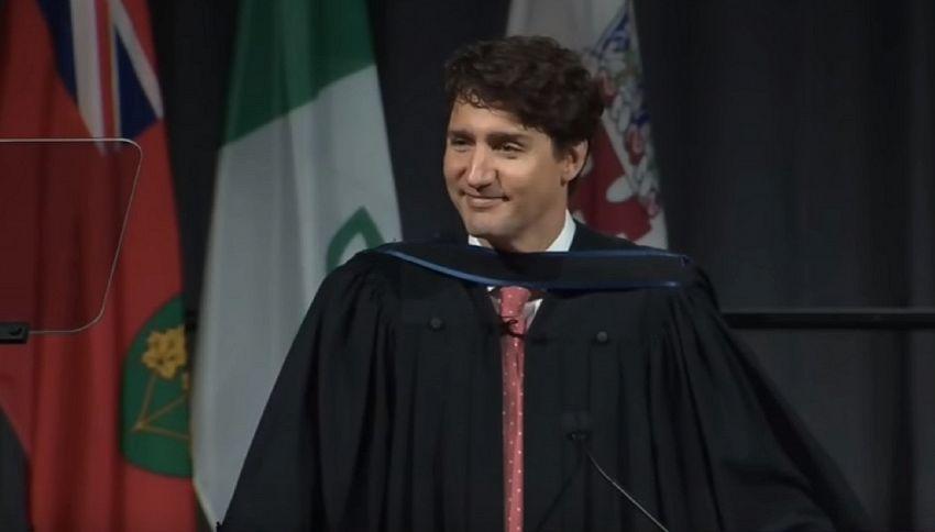 L'emozionante discorso di Justin Trudeau alle nuove generazioni