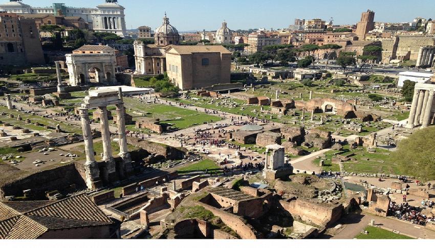 Ecco la mappa della metropolitana dell'antica Roma