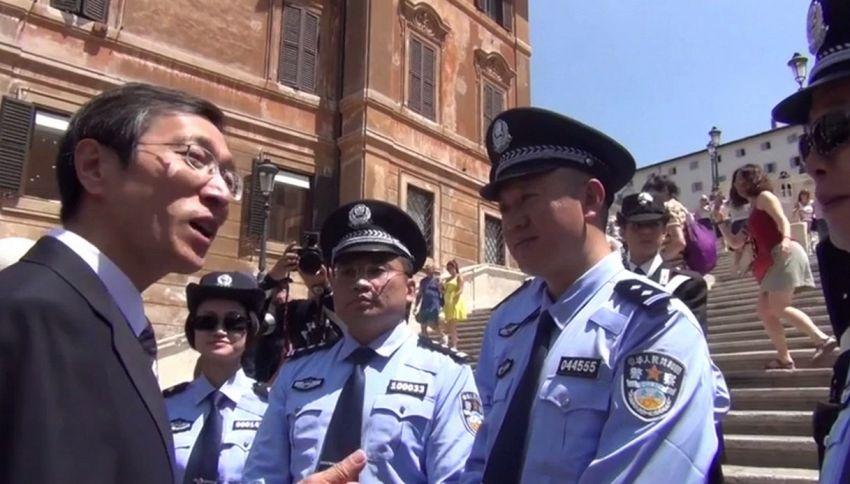 A Roma, Firenze, Napoli e Milano arrivano i poliziotti cinesi