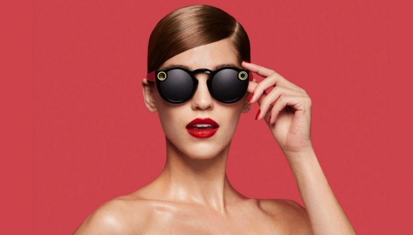 Snapchat lancia Spectacles, occhiali social che postano i video