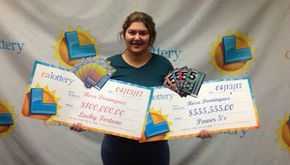 Ragazza vince alla lotteria due volte in una settimana