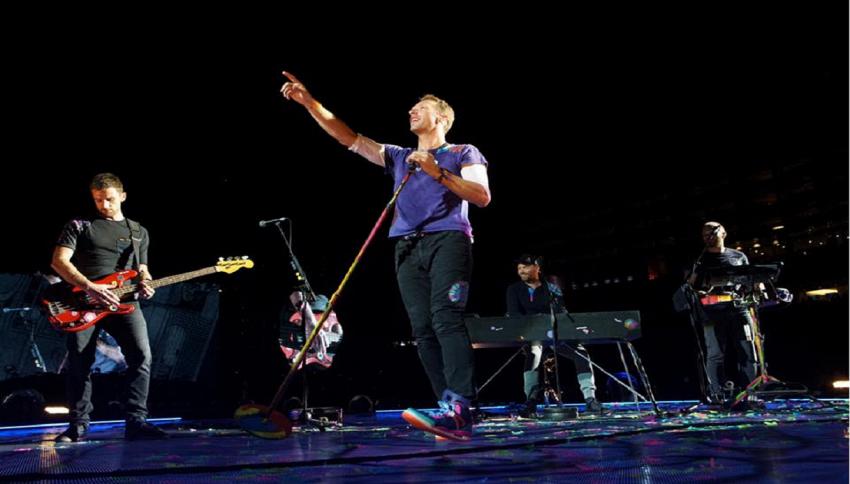 Coldplay in concerto : il benvenuto dell'Inter