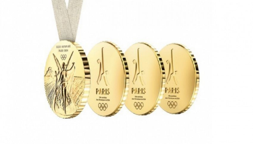 Parigi 2024: la nuova medaglia olimpica sarà condivisibile