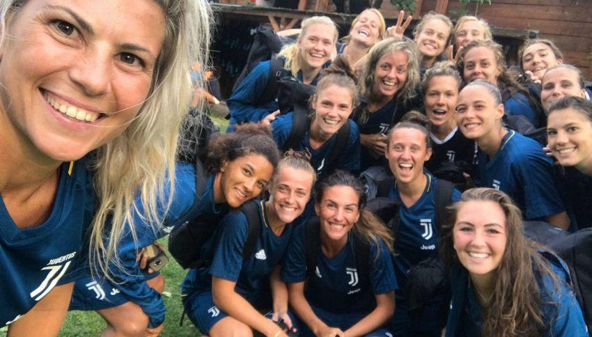 "Arriva la Juventus al femminile: ""Puntiamo alla Champions"""