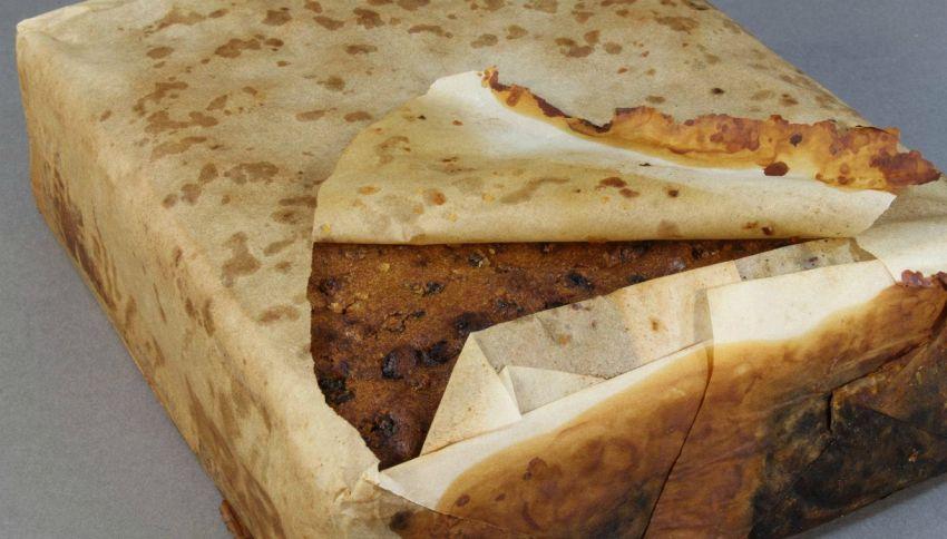 Scoperta in Antartide una torta (ancora perfetta) di 106 anni