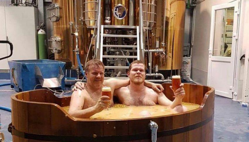 Beer spa: in Islanda il bagno termale nella birra