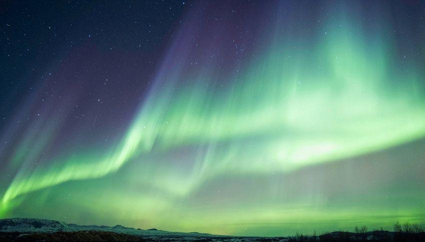 La strepitosa aurora boreale ripresa da Paolo Nespoli
