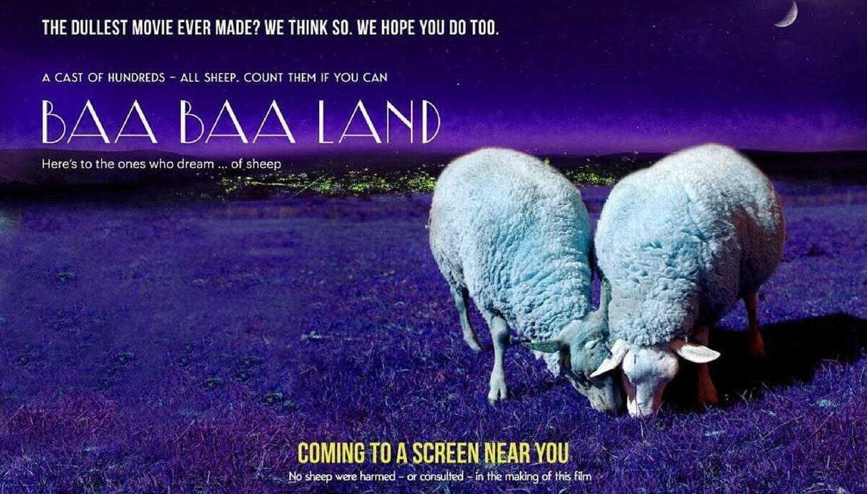 Baa Baa Land: il film di 8 ore che mostra solo pecore