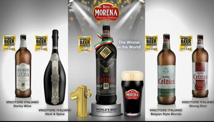 La birra scura migliore del mondo è italiana