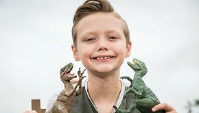 Charlie, il bambino che ha corretto il Natural History Museum