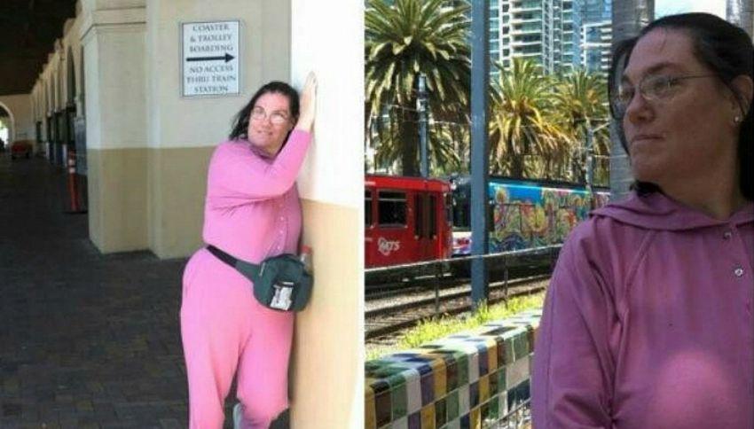 La donna che ha sposato una stazione dei treni