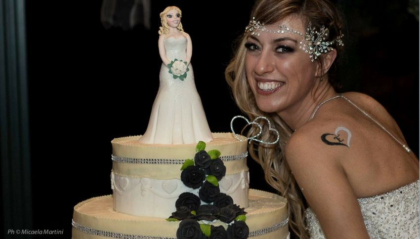Laura, la donna italiana che si è sposata con se stessa