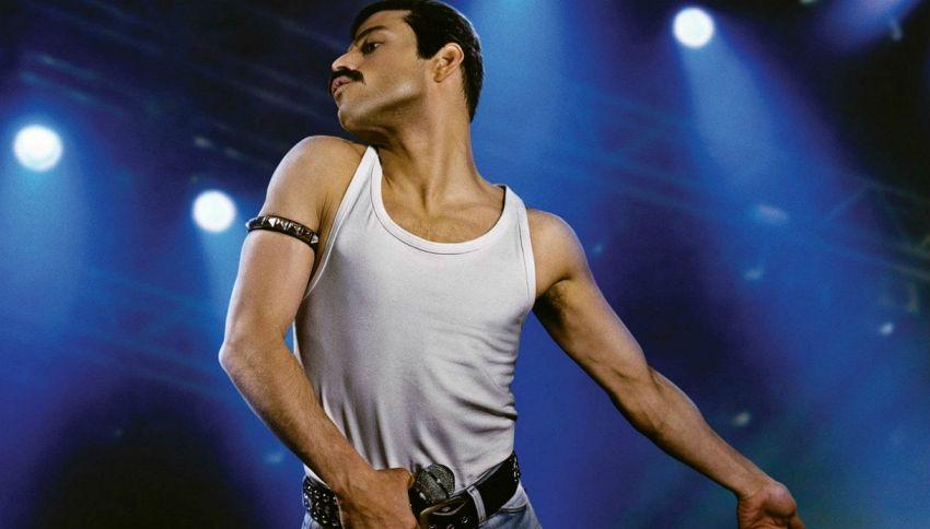 La prima foto di Rami Malek nei panni di Freddie Mercury