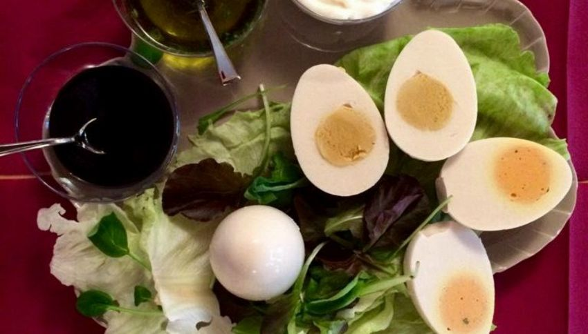 Hanno inventato il primo uovo sodo vegano (ed è italiano)