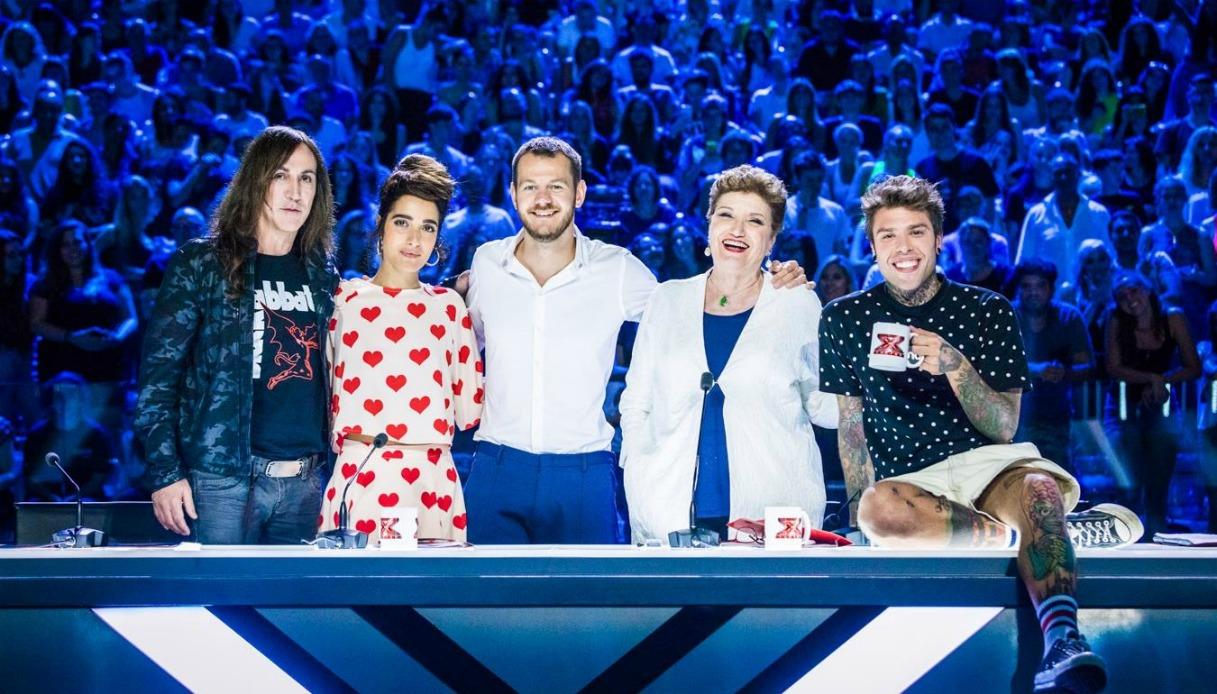 X Factor prima puntata con Levante, Fedez, Agnelli e Maionchi
