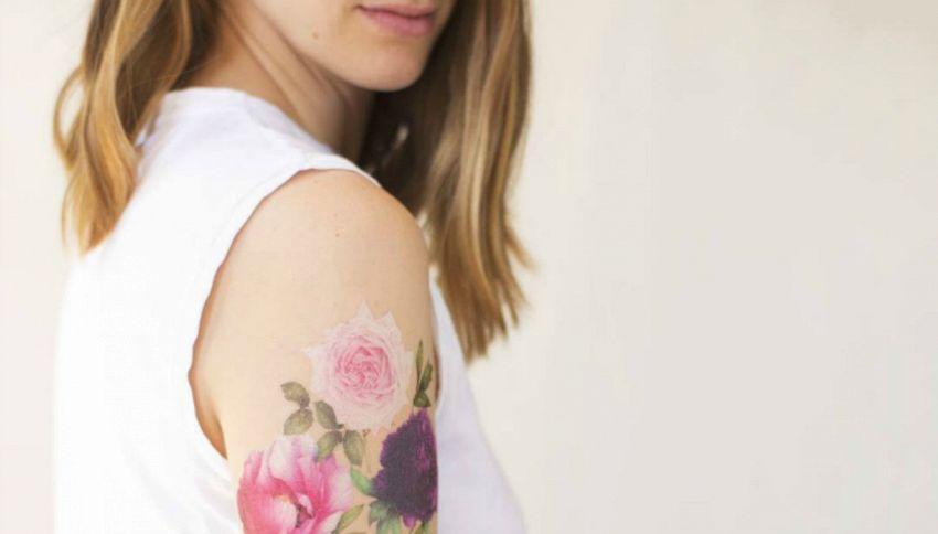 L'ultima moda sono i tatuaggi profumati