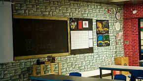 Prof trasforma l'aula della classe nel set di Harry Potter