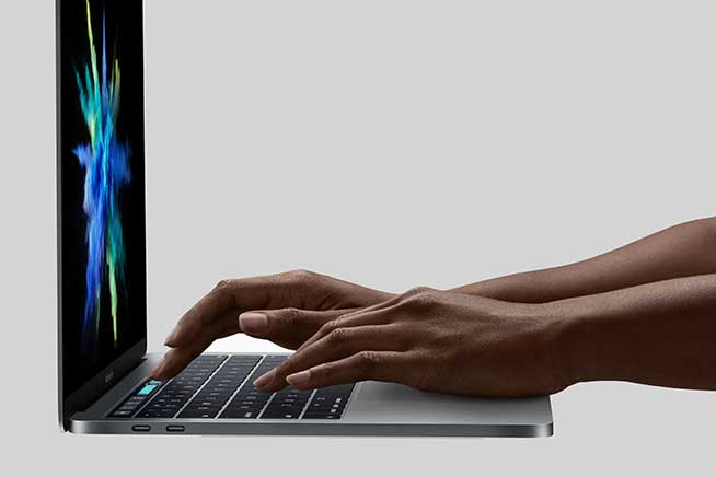 Touch Bar di Apple