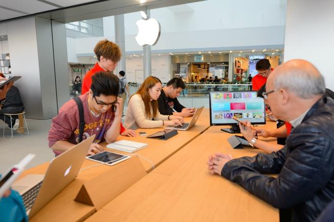 apple store cambia sicurezza