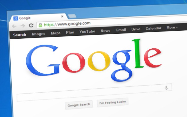 Il browser Google Chrome