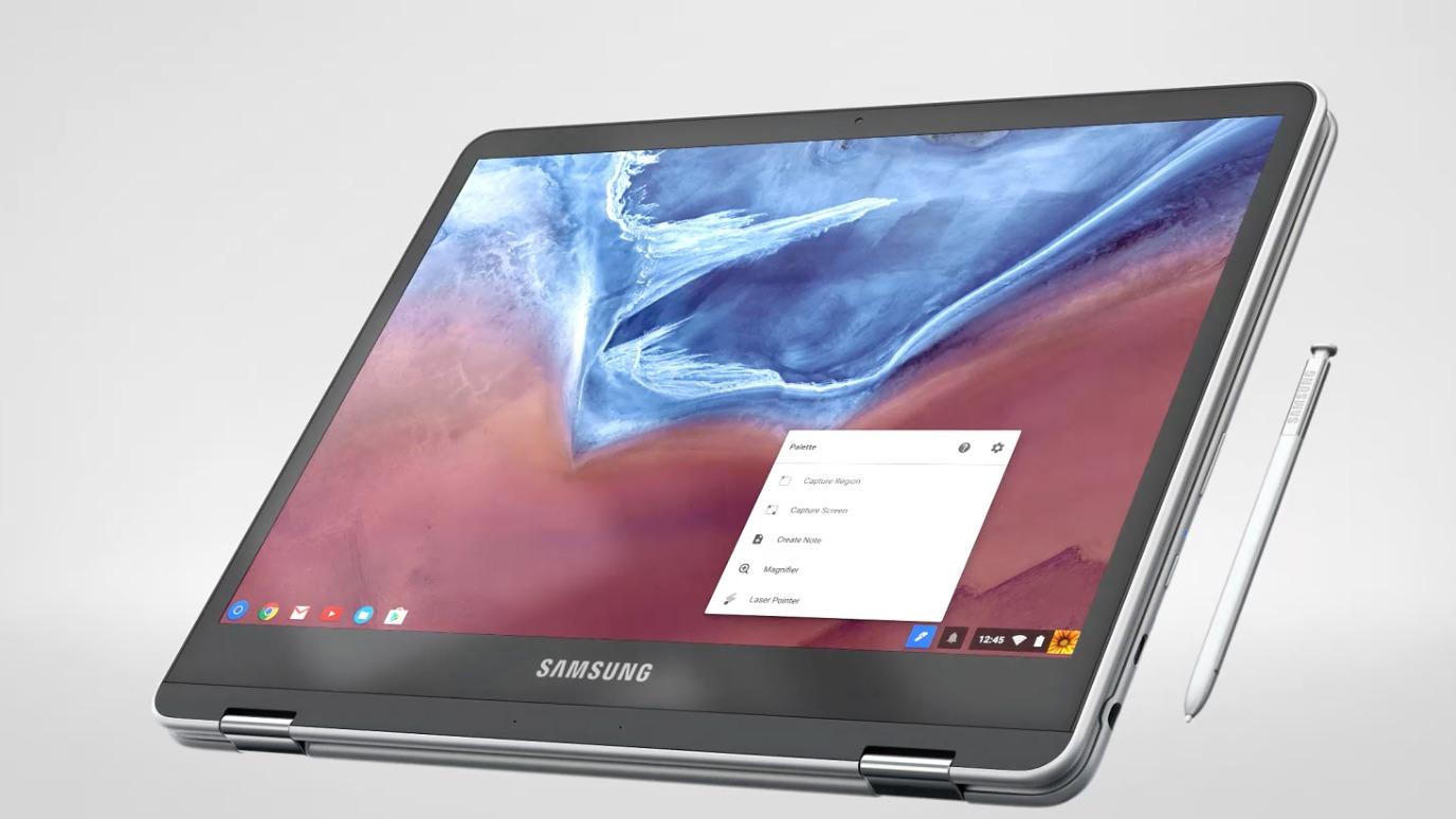 In arrivo il nuovo Samsung Chromebook Pro: con stilo e app Android