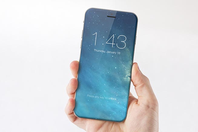 Rendering iPhone 8