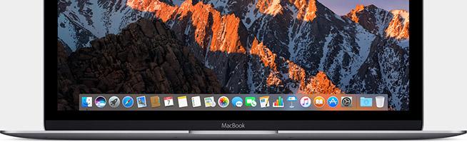 MacBook e macOS Sierra 10.12