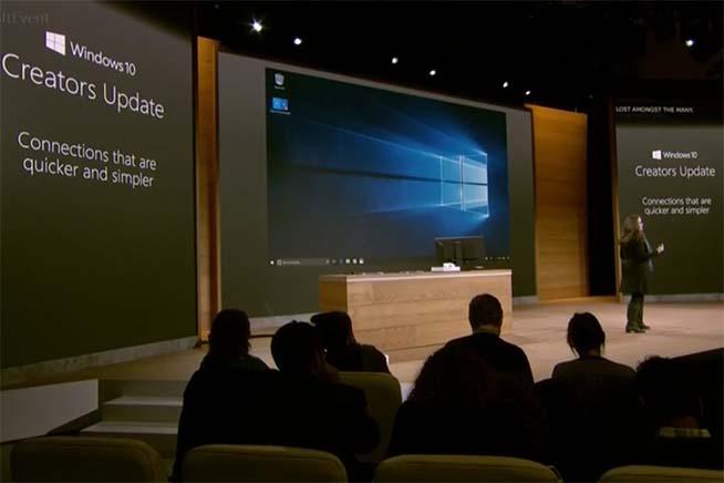 Microsoft sharing experience