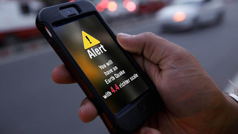 Terremoto, in futuro gli smartphone potrebbero avvisarci prima