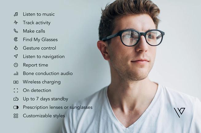 Le funzionalità degli occhiali Vue