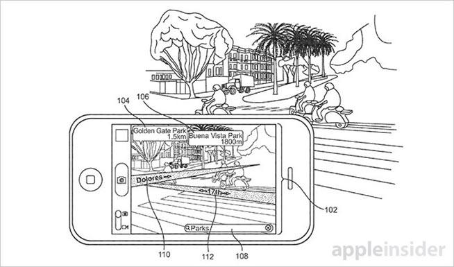 l brevetto depositato da Apple