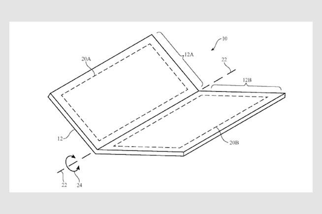 il brevetto dell'iPhone pieghevole