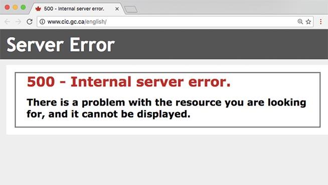 Sito web irraggiungibile a causa del traffico elevato