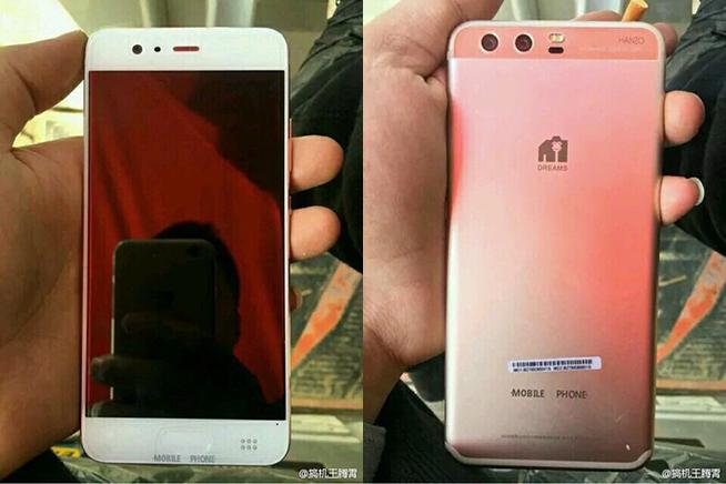 Le prime immagini del Huawei P10