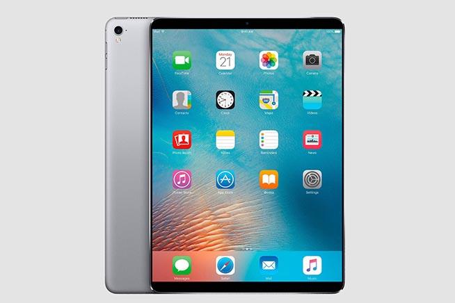 Un rendering del nuovo iPad