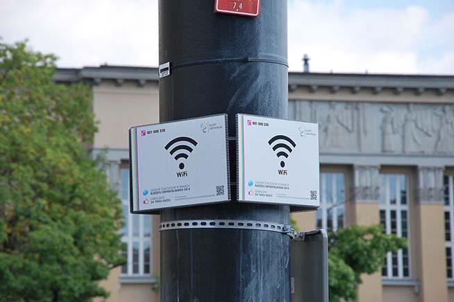 Hotspot Wi-Fi pubblico