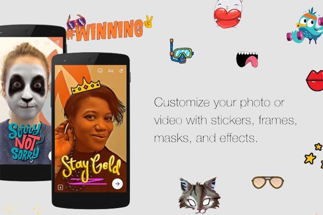 Facebook Messenger, nuovi filtri ed effetti 3D