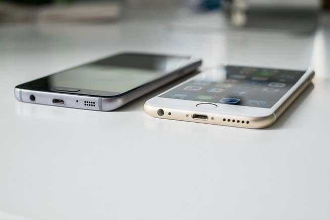 Galaxy e iPhone