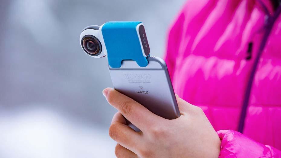 Video a 360° da condividere sui social? Ora si può grazie a Giroptic