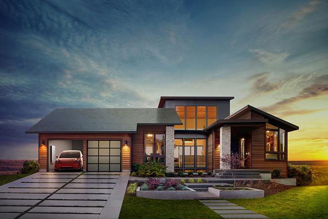 L'auto elettrica non è l'unico progetto di Elon Musk, Tesla vuole lanciare anche le tegole solari per produrre energia pulita. Premi sull'immagine per saperne di più