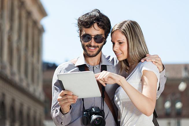 Premi sull'immagine per scoprire le dieci migliori applicazioni per organizzare viaggi